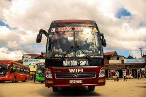 Xe từ Quảng Ninh đi Sapa