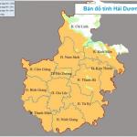 Tìm hiểu về tỉnh Hải Dương có bao nhiêu huyện?