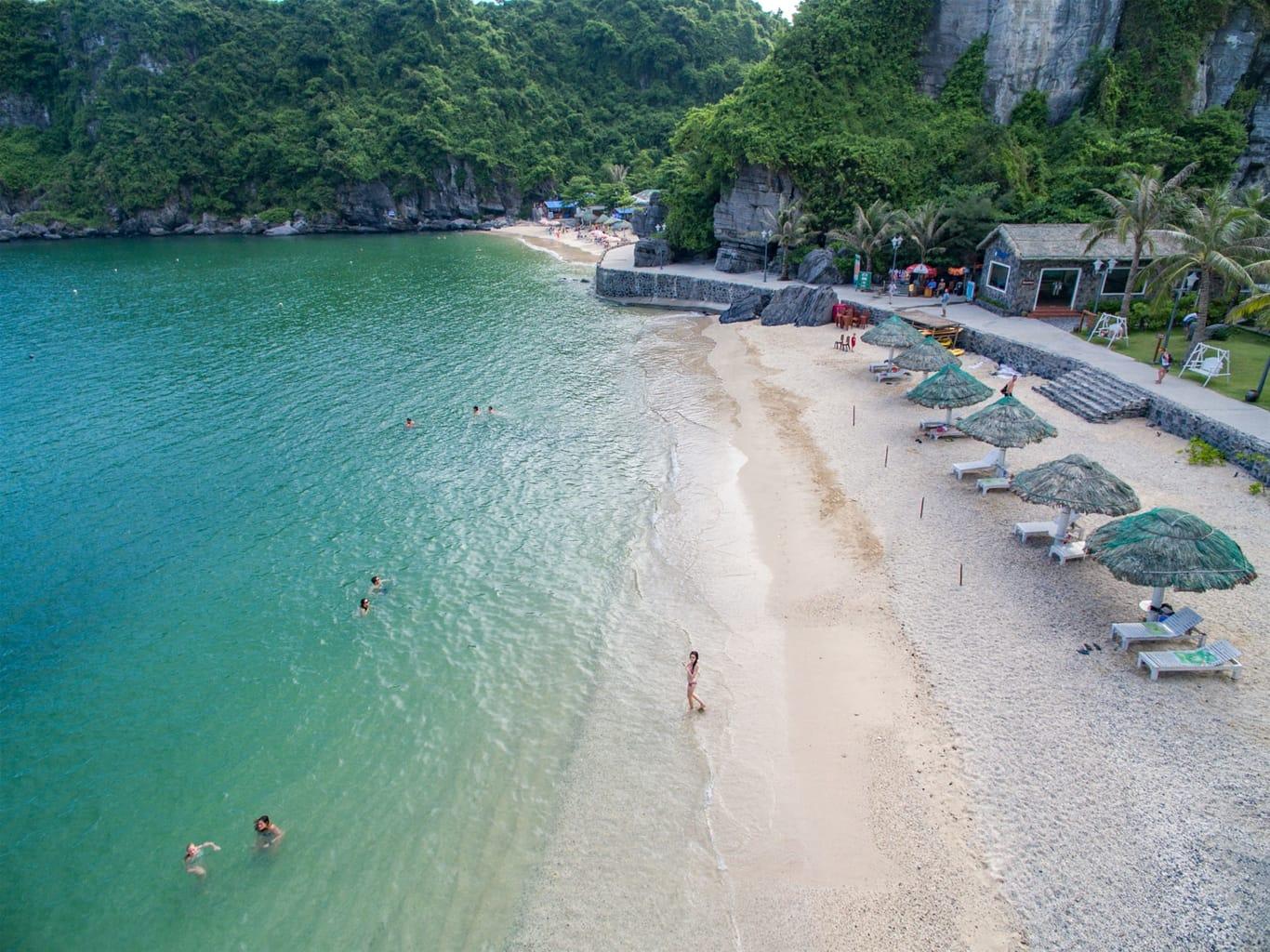 đảo Cát Bà Hải Phòng bao nhiêu km